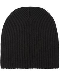 Edward Crutchley - Ribbed Knit Cashmere Beanie Hat - Lyst