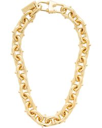 Prada - Chunky Chain Link Necklace - Lyst