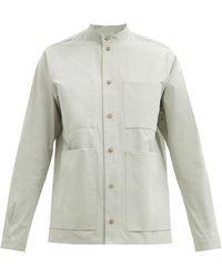 Toogood The Locksmith Cotton-poplin Shirt - Green