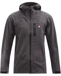 66 North Snaefell Gore-tex Infinium Hooded Jacket - Grey