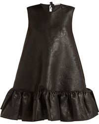 Cecile Bahnsen - Lala Silk-cloqué Mini Dress - Lyst