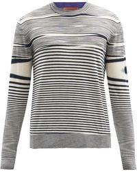 Missoni Space-dyed Wool Jumper - Grey