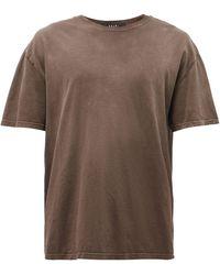 Ksubi クロス ビジー コットンtシャツ - ブラウン