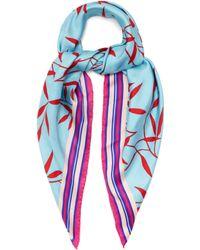 Diane von Furstenberg   Shelton-print Silk Scarf   Lyst