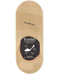 Pantherella - Footlet Cotton-blend Shoe Liners - Lyst