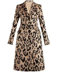 Altuzarra - Driss Leopard-print Wool Coat - Lyst