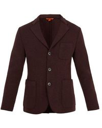 Barena - Raw-edge Single-breasted Wool-blend Blazer - Lyst