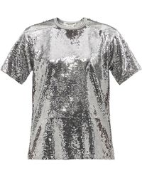 Junya Watanabe スパンコール Tシャツ - マルチカラー