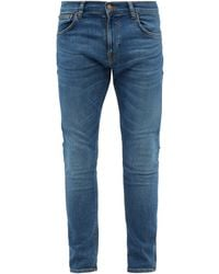 Nudie Jeans Tight Terry Skinny-leg Jeans - Blue