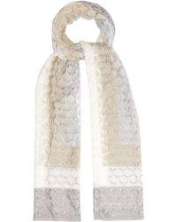 Missoni - Striped Fine-knit Scarf - Lyst