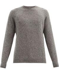 Sunspel ウールセーター - グレー