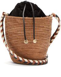 Cesta Collective Lunchpail Sisal Basket Bag - Multicolour
