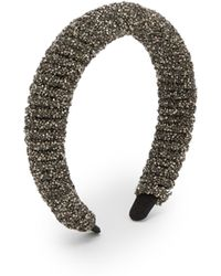 Germanier - Crystal Embellished Headband - Lyst