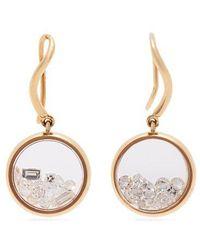 Aurelie Bidermann - - Chivor 18kt Gold & Diamond Earrings - Womens - Gold - Lyst