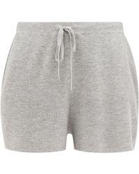Skin Weslin Organic Cotton-blend Shorts - Grey