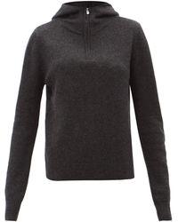 Totême Cashmere Hooded Jumper - Grey
