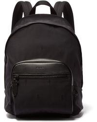 Neil Barrett - Classic Lightning Bolt Jacquard Nylon Backpack - Lyst