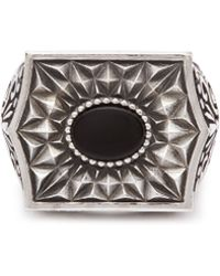 Emanuele Bicocchi - Chevalier Sterling Silver Ring - Lyst