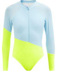 Cynthia Rowley Maillot de surf colour-block Nazare - Multicolore