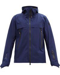 3 MONCLER GRENOBLE ヴィッライル フーデッドスキージャケット - ブルー