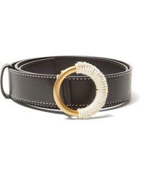 ROKSANDA - Yarn Wrapped Buckle Leather Belt - Lyst