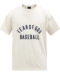Fear Of God ベースボール&ロゴ コットンtシャツ - マルチカラー