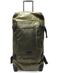 Eastpak Cnnt Tranverz Large Shell Suitcase - Green
