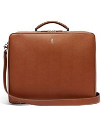 Mark Cross - Baker Palmellato Leather Weekend Bag - Lyst