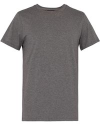 A.P.C. Jimmy Cotton Jersey T Shirt - Gray