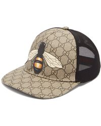 21b46f0c0a2 Lyst - Gucci Felt Hat With Snake And Bee in Black for Men