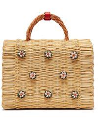 Heimat Atlantica - Shella Woven Basket Bag - Lyst