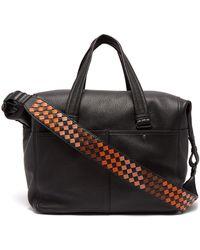 Bottega Veneta - Leather Holdall - Lyst