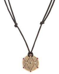 Ara Vartanian - X Kate Moss Diamond, Ruby & Gold Necklace - Lyst