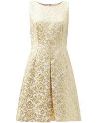 Dolce & Gabbana - フローラル ブロケードドレス - Lyst