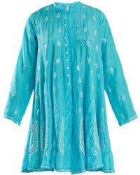 Juliet Dunn - Sequin-embellished Silk Dress - Lyst