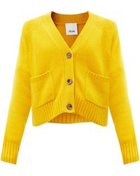 Allude Cashmere Cardigan - Yellow