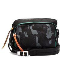 Prada - Camouflage-print Nylon Shoulder Bag - Lyst