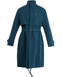 Acne Studios - Mali Cotton And Linen-blend Overcoat - Lyst