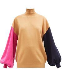 ROKSANDA - クローバー カラーブロック セーター - Lyst
