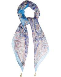 Etro | Paisley Silk-blend Scarf | Lyst