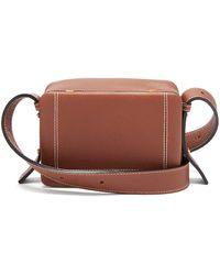 Lutz Morris Maya Large Grained-leather Cross-body Bag - Brown