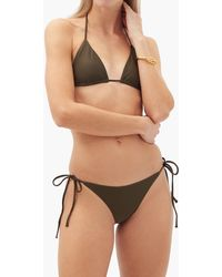 Matteau The String Low-rise Bikini Briefs - Green