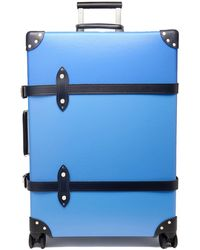 Globe-Trotter Cruise 30'' Check-in Suitcase - Blue