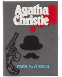 Olympia Le-Tan Poirot Investigates ブッククラッチバッグ - マルチカラー