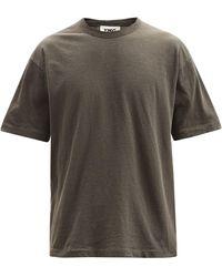 YMC トリプル オーガニックコットンtシャツ - マルチカラー