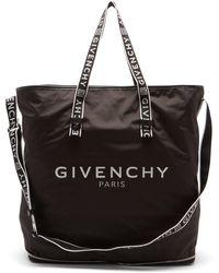 Givenchy 4g パッカブル シェルトートバッグ - ブラック