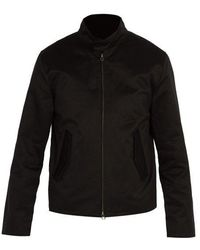 Saturdays NYC - Harrington Pima-cotton Jacket - Lyst