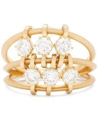 Jade Trau Bague en or 18 carats et diamants Penelope - Multicolore