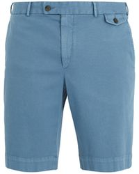 Boglioli - Slim-fit Cotton-blend Shorts - Lyst