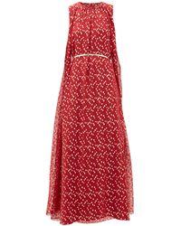 Max Mara Studio Smalto Dress - Red